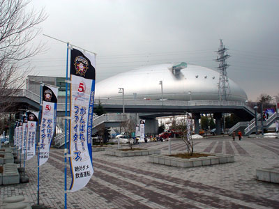 札幌ドームで、初めてのサヨナラ!